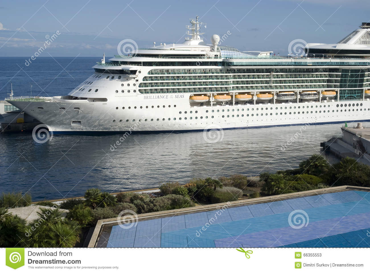 Cruise Ship At Port Of Monaco Editorial Stock Photo Image - Cruise ships in monaco today