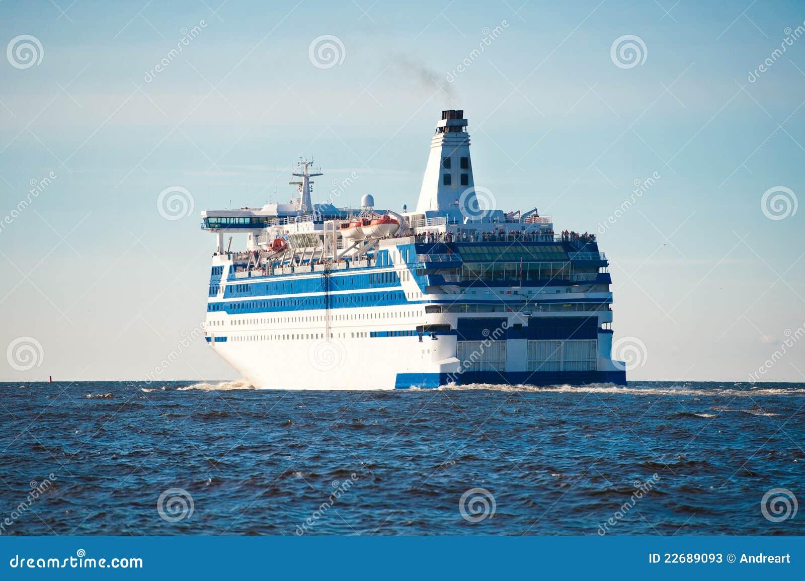 Cruise Ship At Sea Stock Photos  Image 22689093