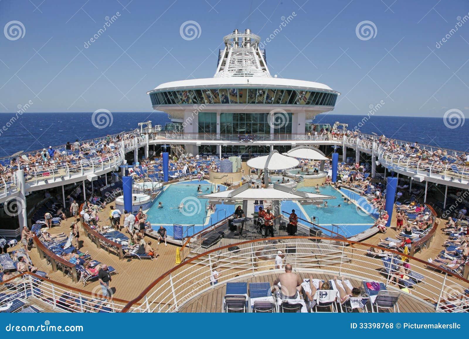 Cruise Ship At Sea Editorial Stock Photo Image 33398768