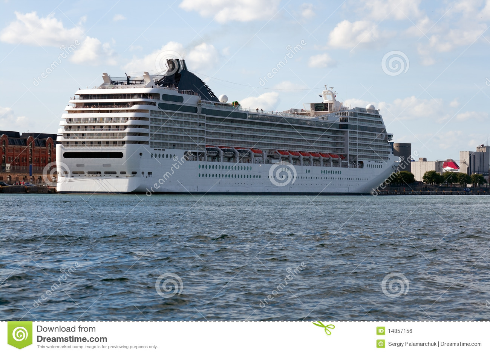Royalty Free Stock Image Cruise Ship Stern Image 14857156