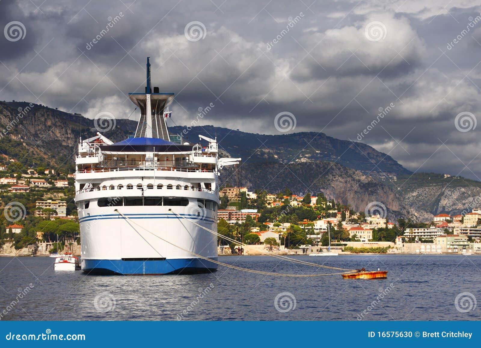 Cruise Ship Stern Stock Photo  Image 16575630