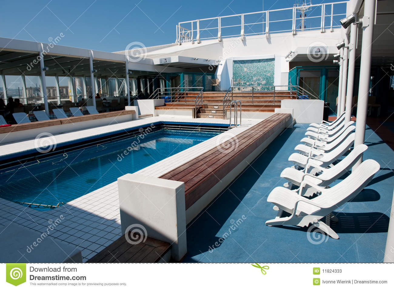Cruise ship swimming pool stock image image of vacation 11824333 for River cruise ships with swimming pool
