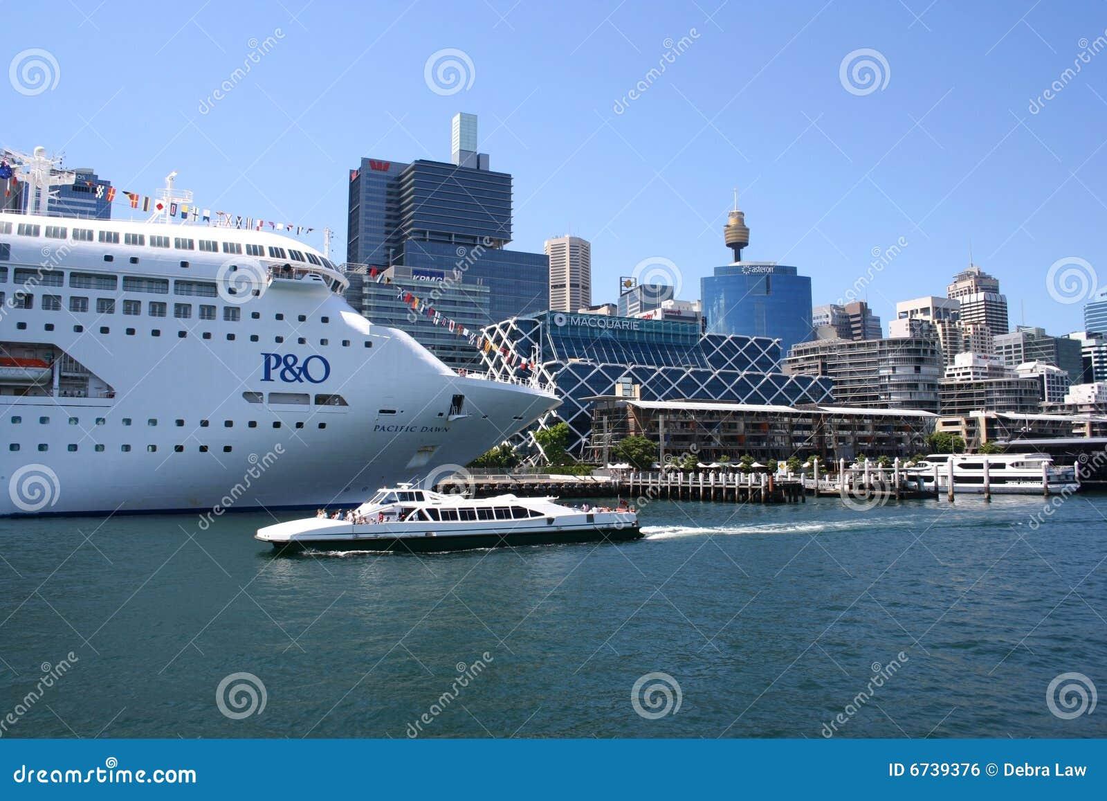 Cruise Ship Sydney Australia Editorial Photo  Image