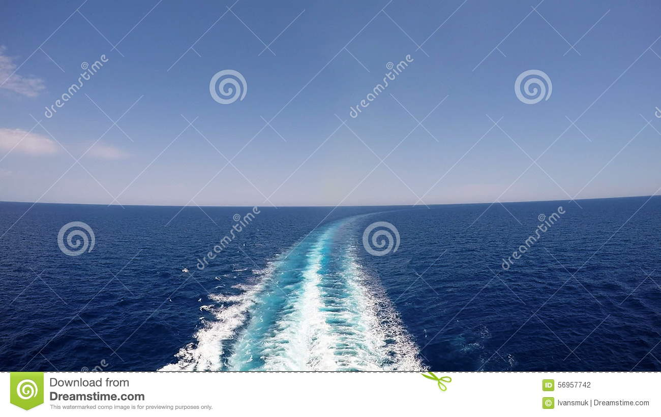 Cruise Ship Track On The Sea Stock Footage Video Of Ocean - Cruise ship locater