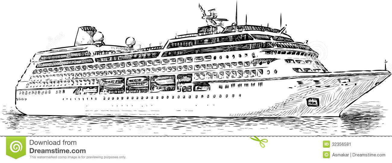 cruise ship stock image image 32356581