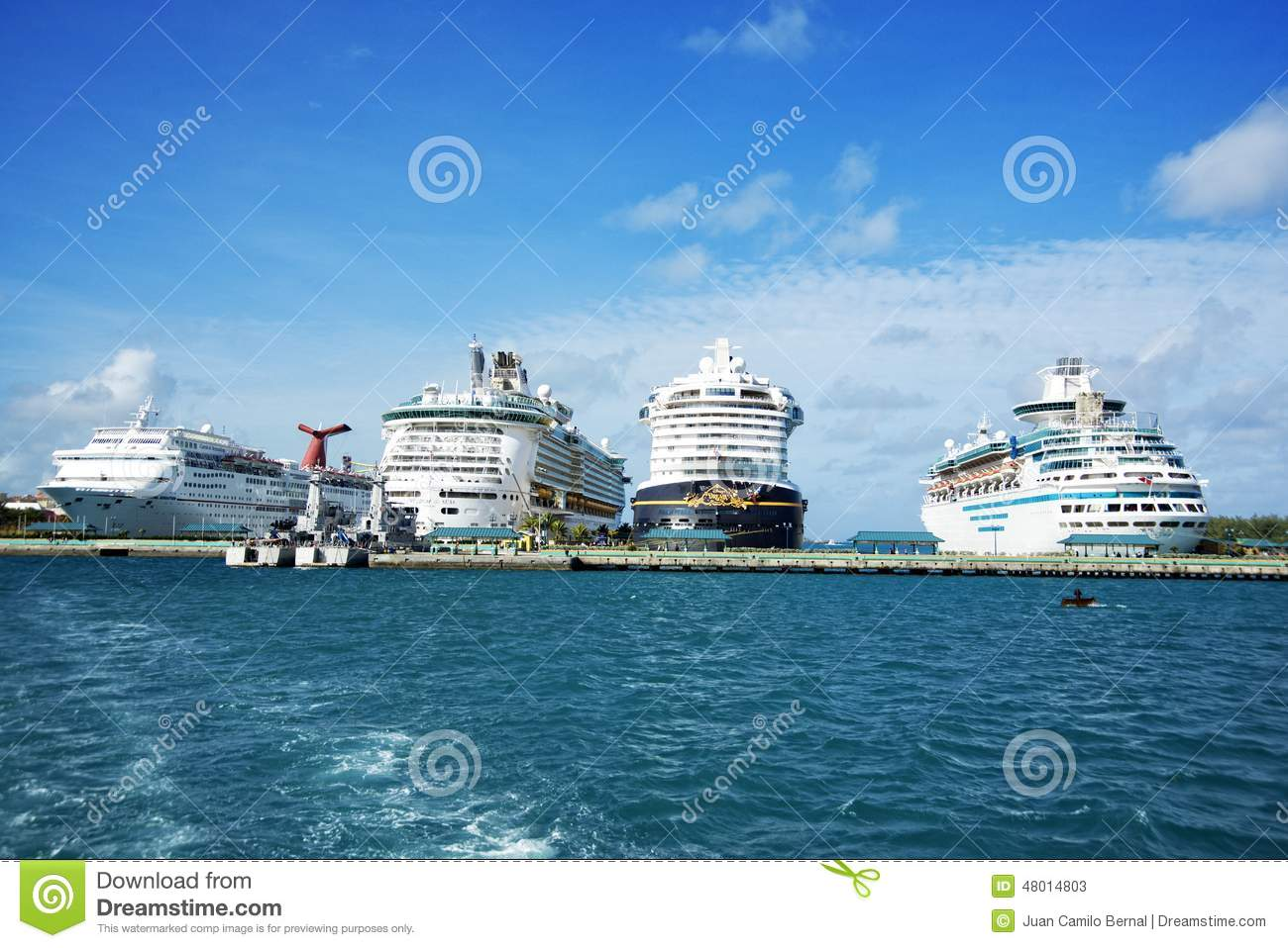 Cruise Ships In Bahamas Editorial Stock Photo Image Of Travel - Bahamas in december