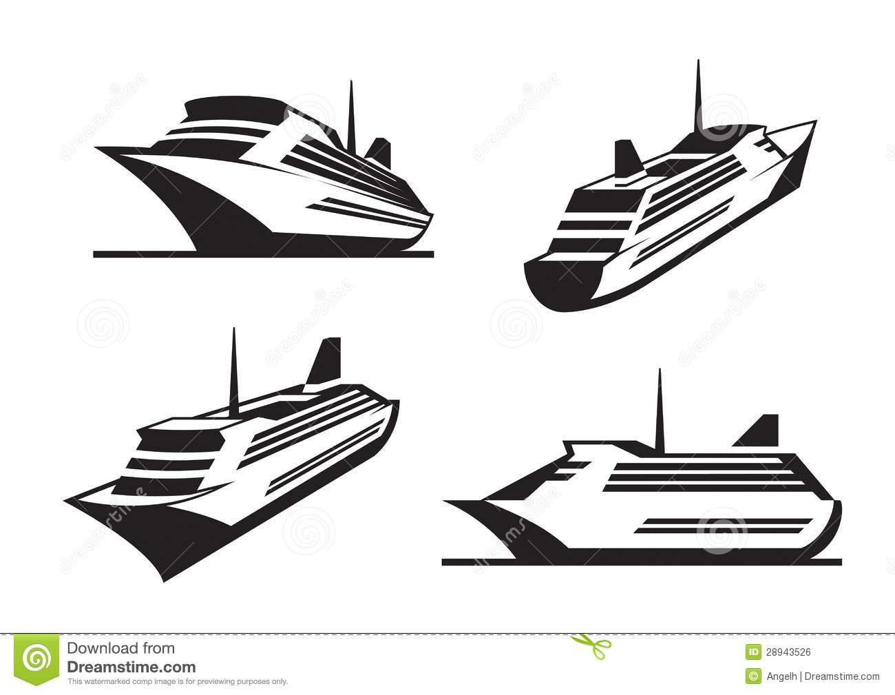 Cruise Ships In Perspective