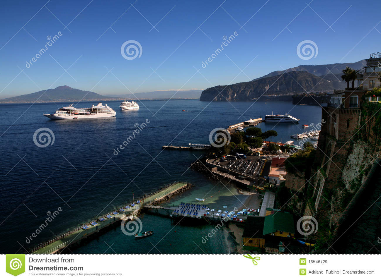 Download Cruises in Italy stock image. Image of landscape, seascape - 16546729