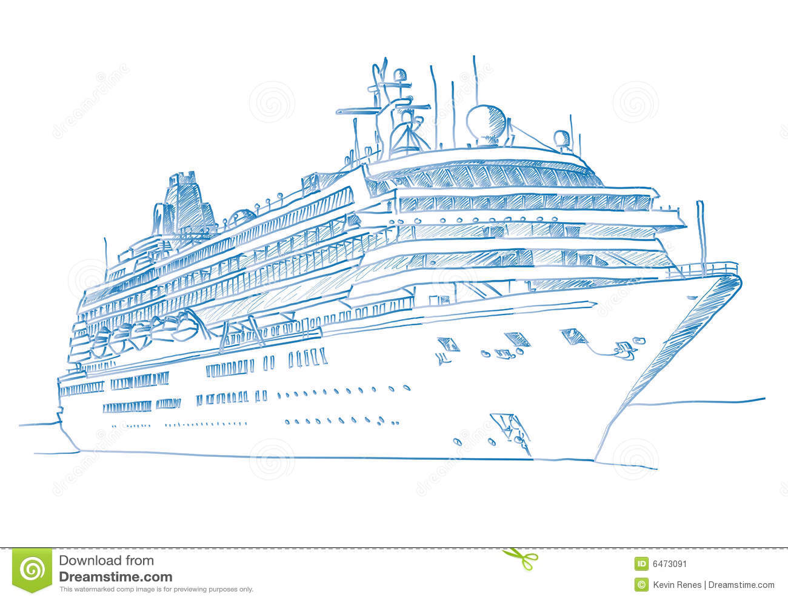 Cruiseship kreślący