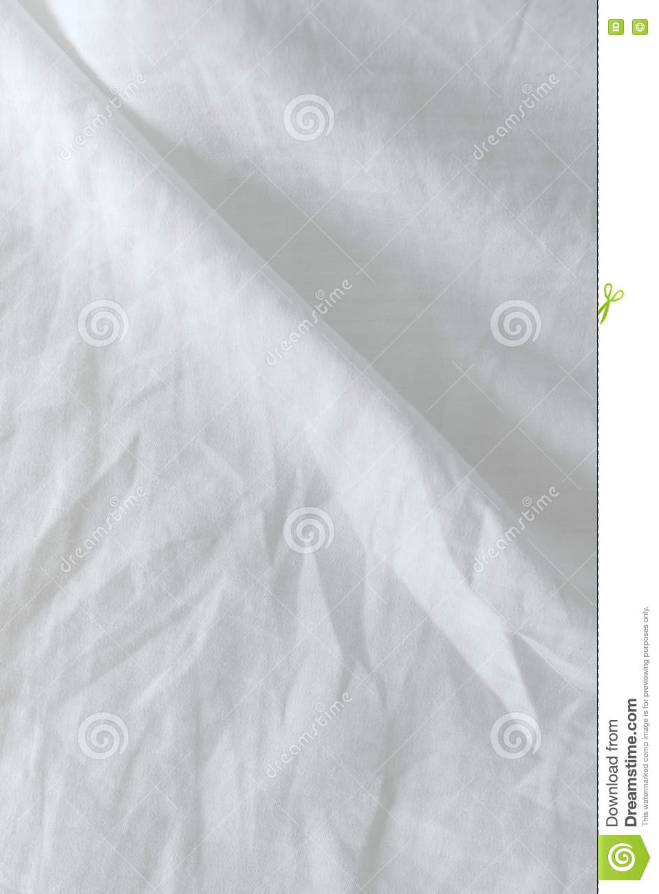 Rumpled bed sheet - Crumpled Bedding Texture Top View
