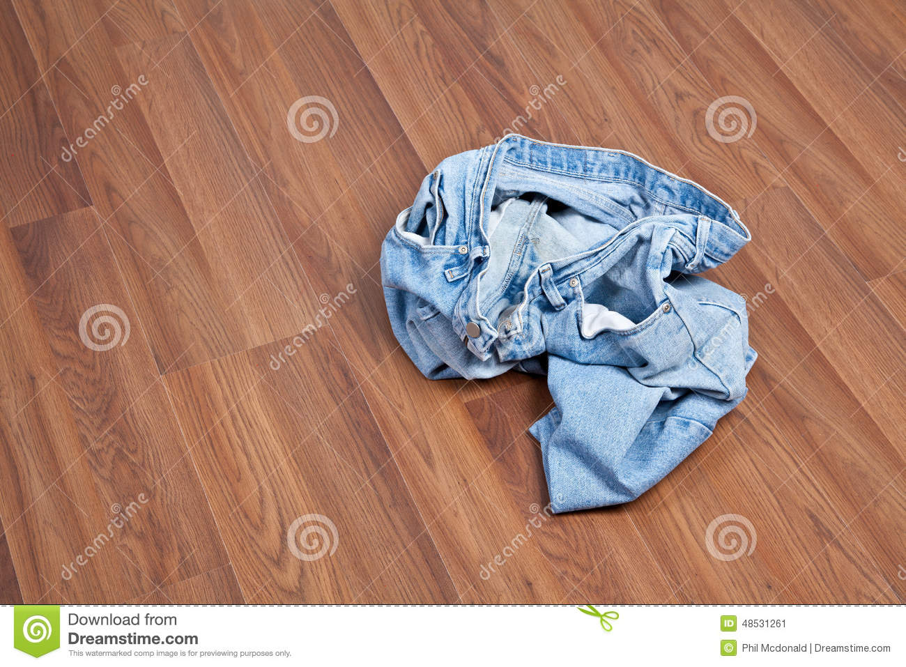 Crumpled jeans on floor stock image image of pants for On the floor on the floor
