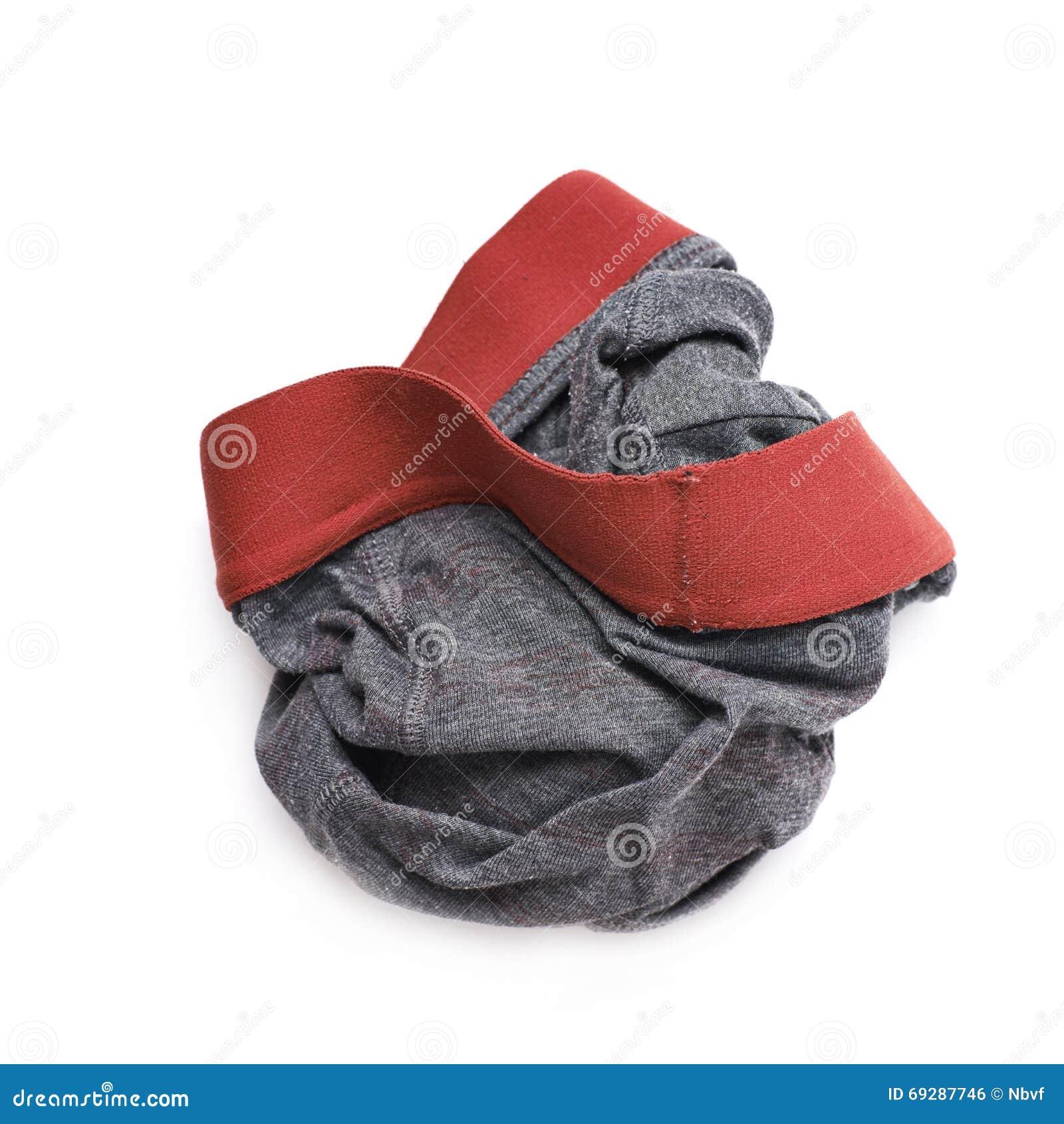 Crumpled panties