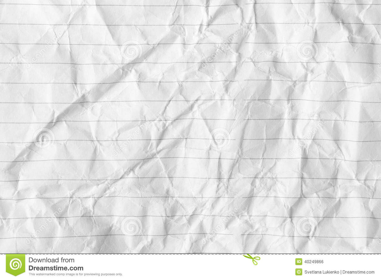 Crumpled Paper Background Stock Photo - Image: 40249866
