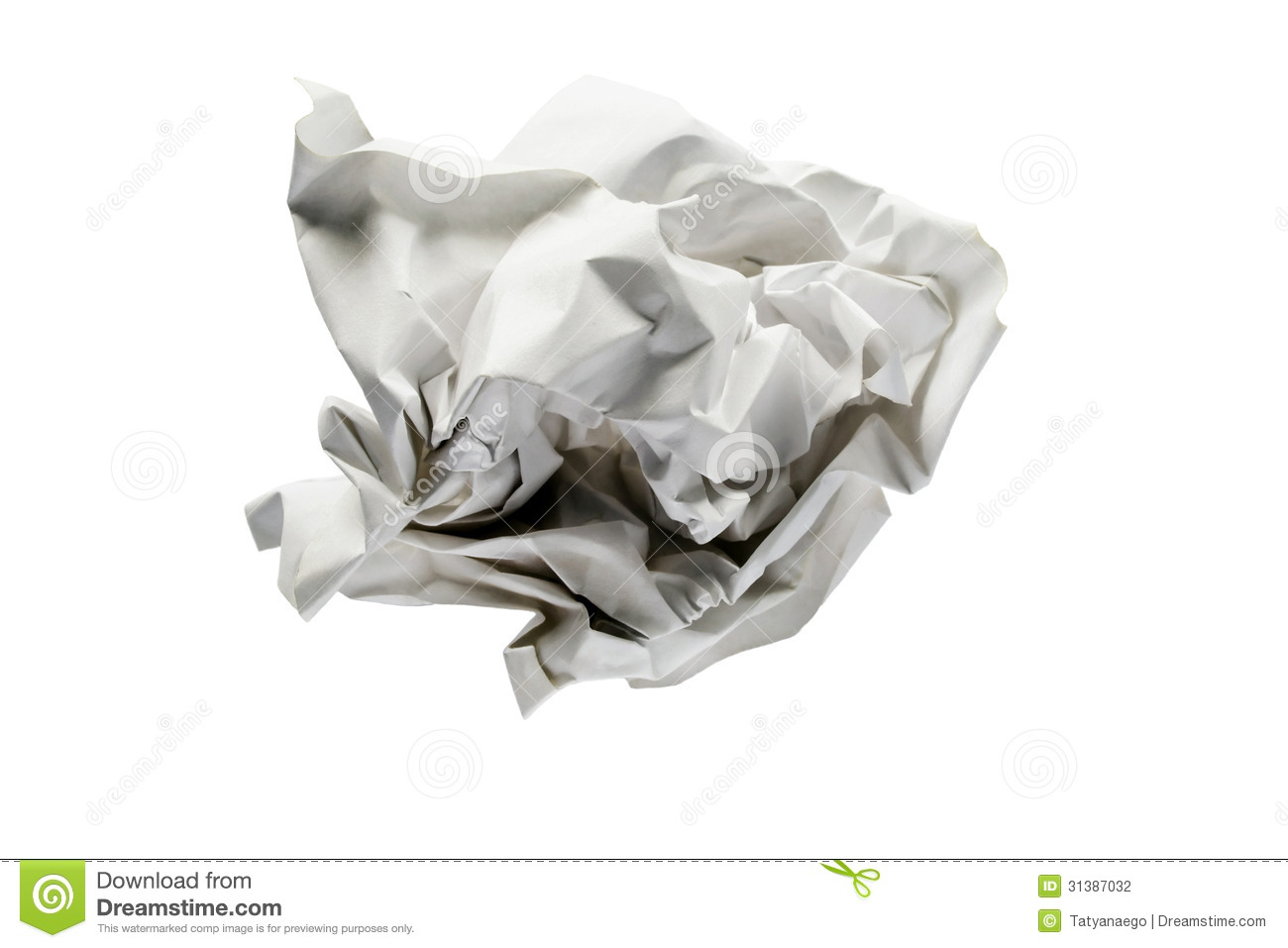 crumpled paper stock photo. image of geometry, abstract - 31387032