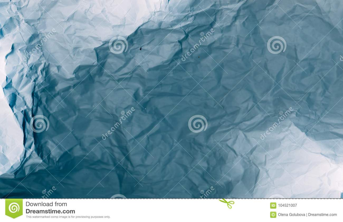 Crumpled paper texture 3d effect background