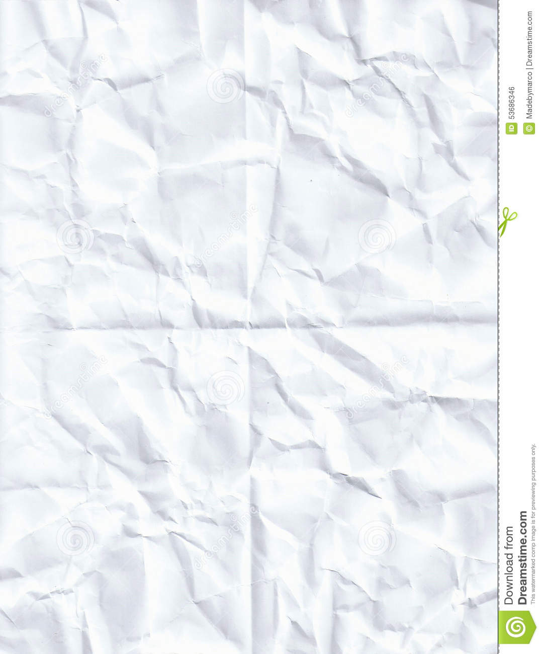 Crumpled White Paper Texture Background Stock Photo ...  White Paper Bag Texture