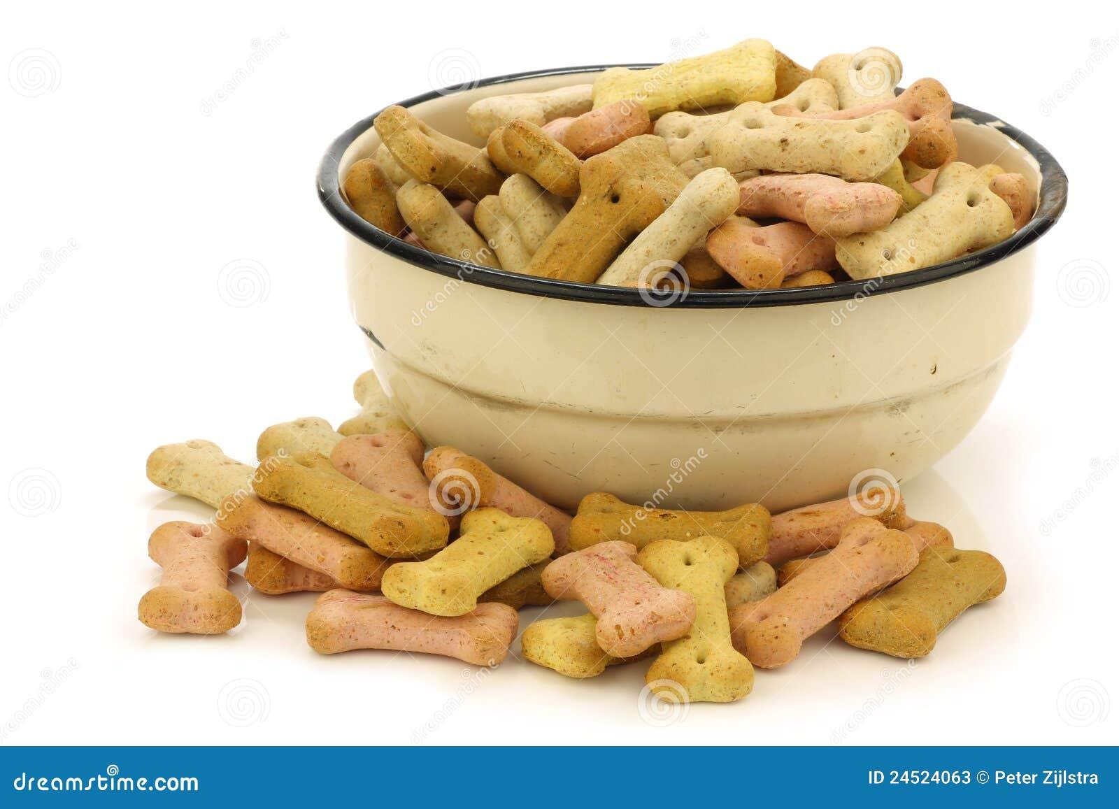 Enamel Dog Food Bowl