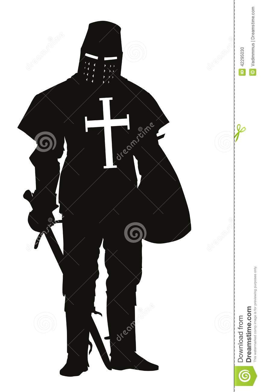 Crusader. Warriors Theme Stock Vector - Image: 42295030