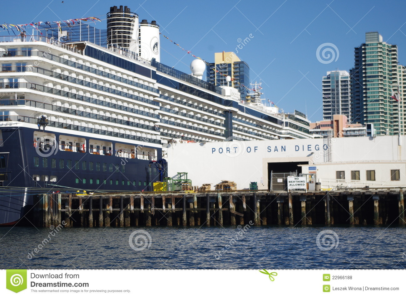 Cruse Ship Terminal In San Diego Califor Editorial Stock Photo Image 22966188