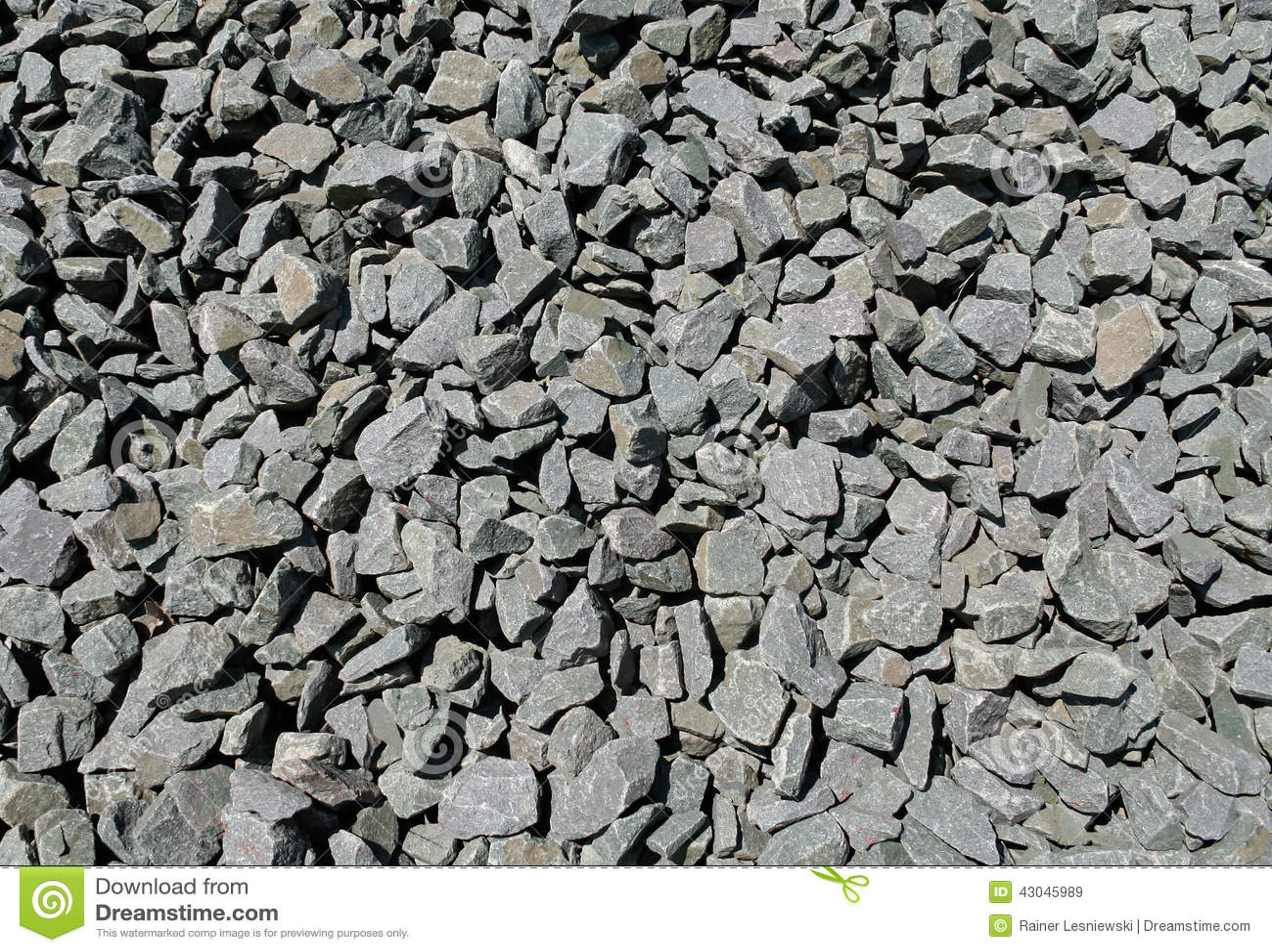 Black Crushed Rock : Crushed basalt stock photo image
