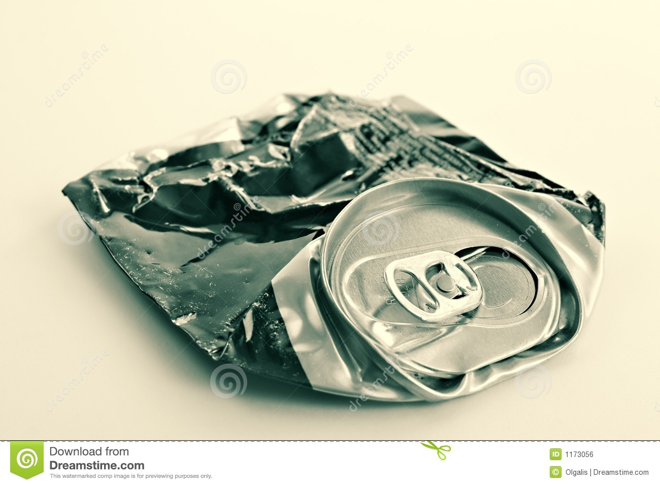 Crushed beer can stock photo. Image of alcohol, finished ...  Crushed Beer Can