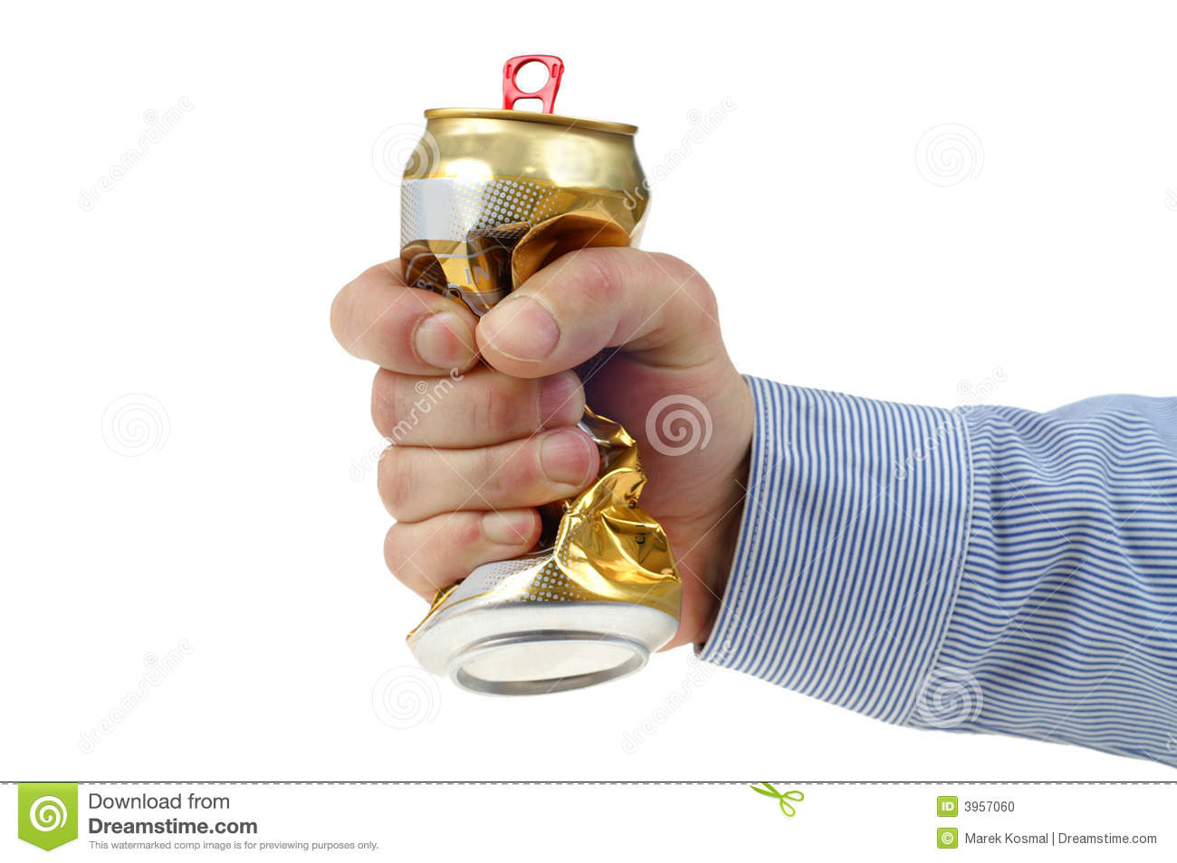 Crushed beer-can stock photo. Image of crushed, fury ...  Crushed Beer Can