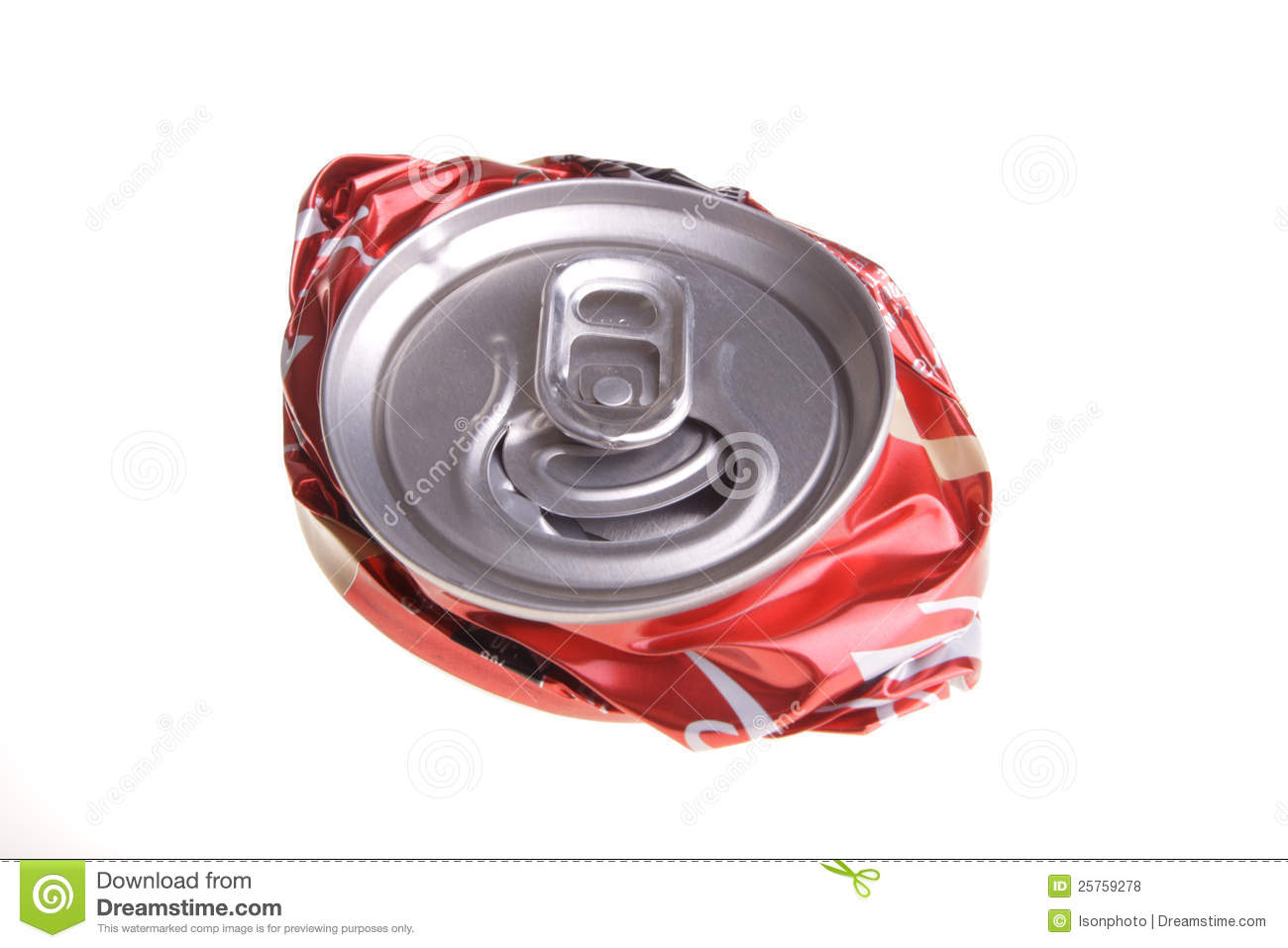 crushed can clipart. royalty-free stock photo. download crushed drink can clipart