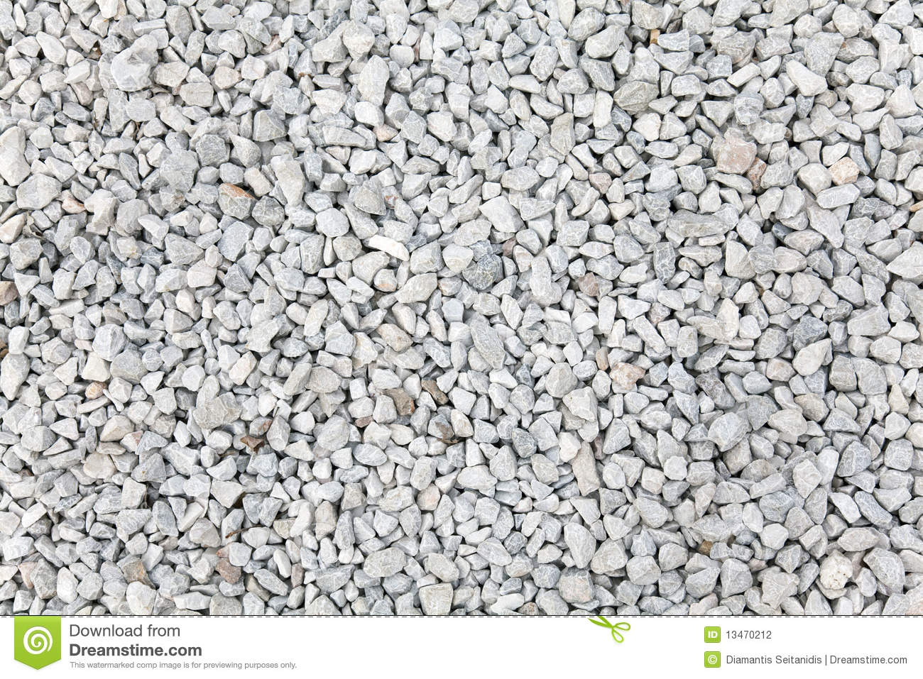 Crushed Stone Aggregate : Crushed gravel stock photography image