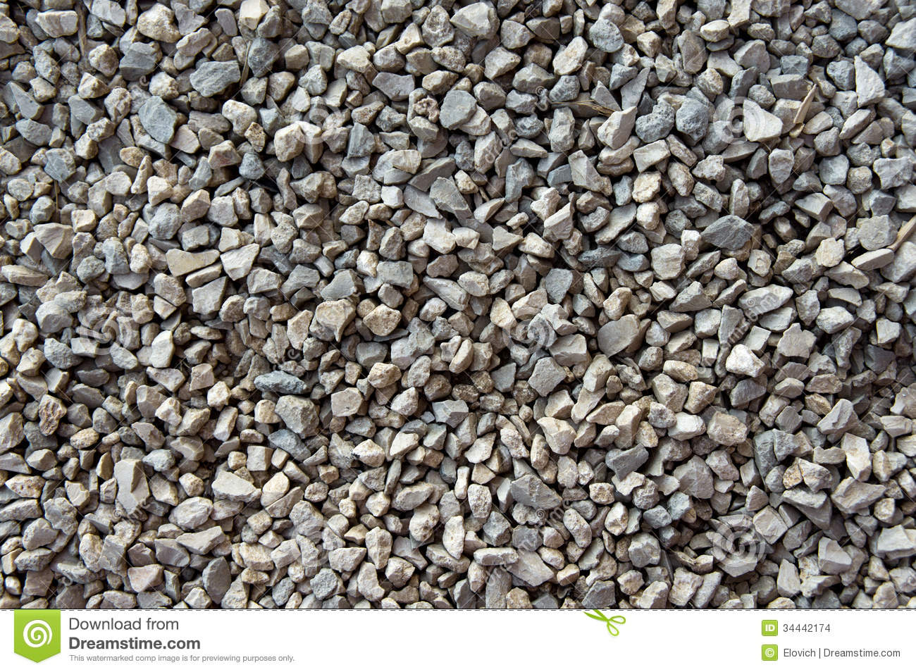 Crushed Stone Gravel : Crushed gravel texture stock photo image of natural
