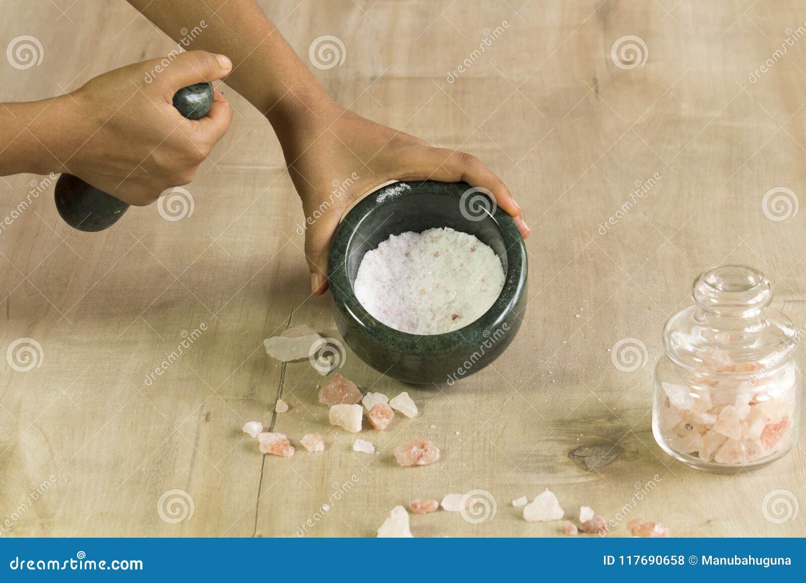 Crushed rock salt stock photo  Image of cuisine, taste