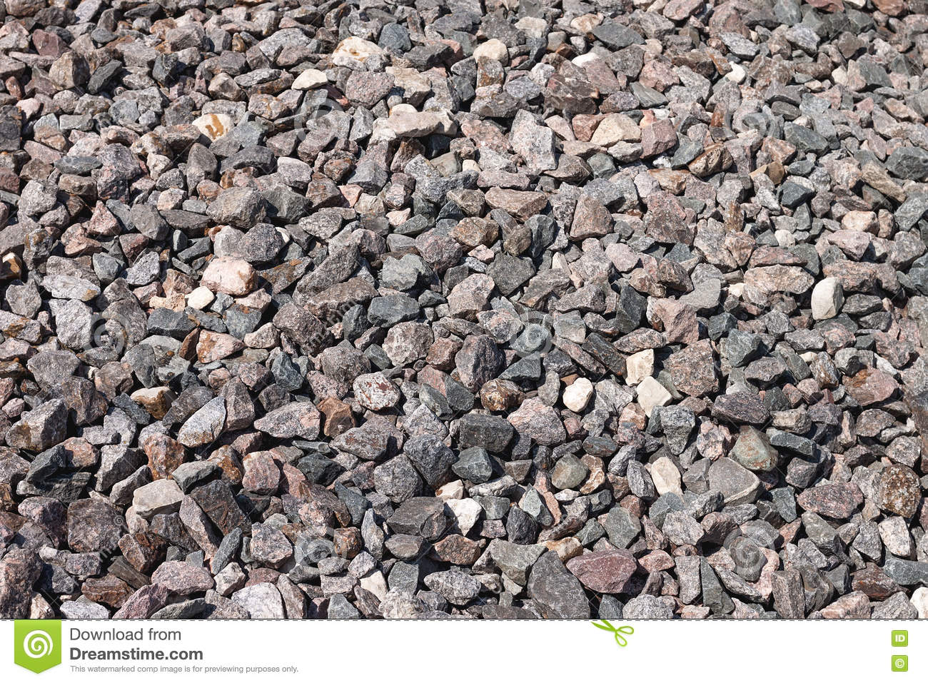 Crushed Stone Colors : Crushed stone the granite stock photo image