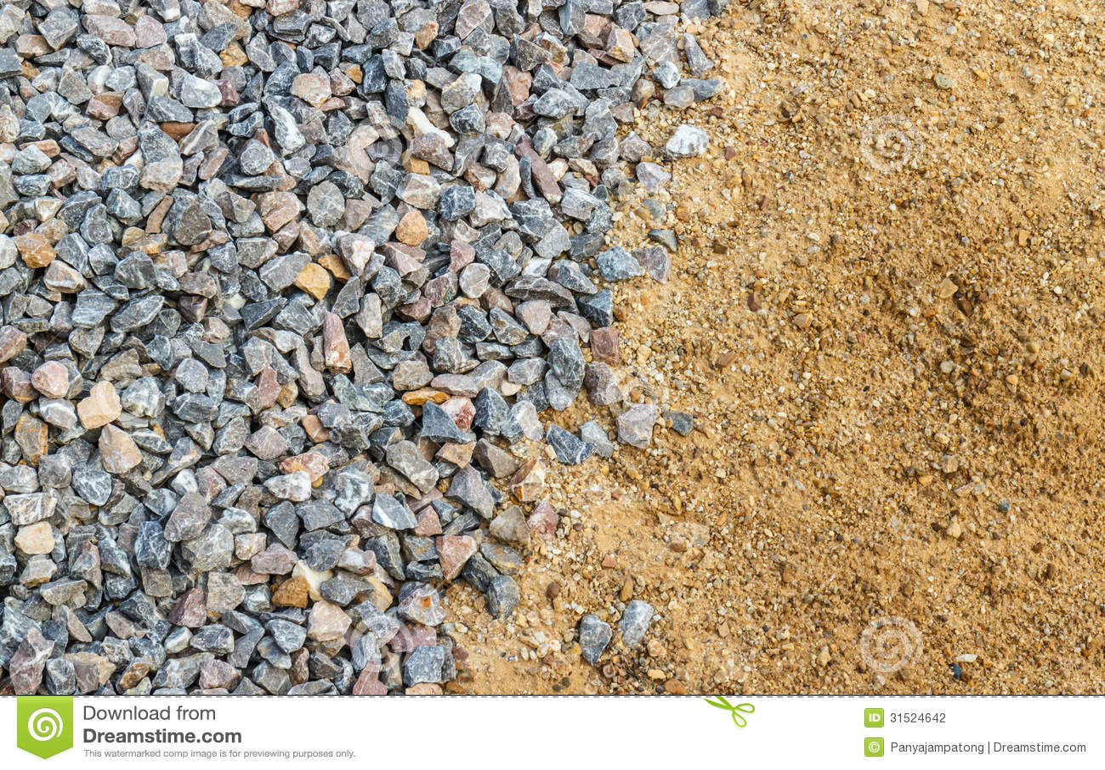 sand och sten