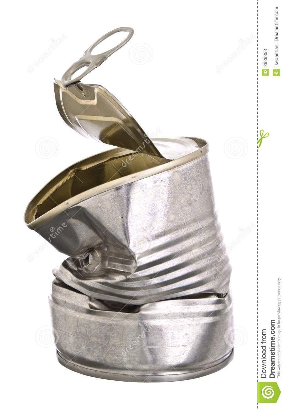Crushed Tin Can Stock Photos - Image: 8636353 Crushed Beer Can