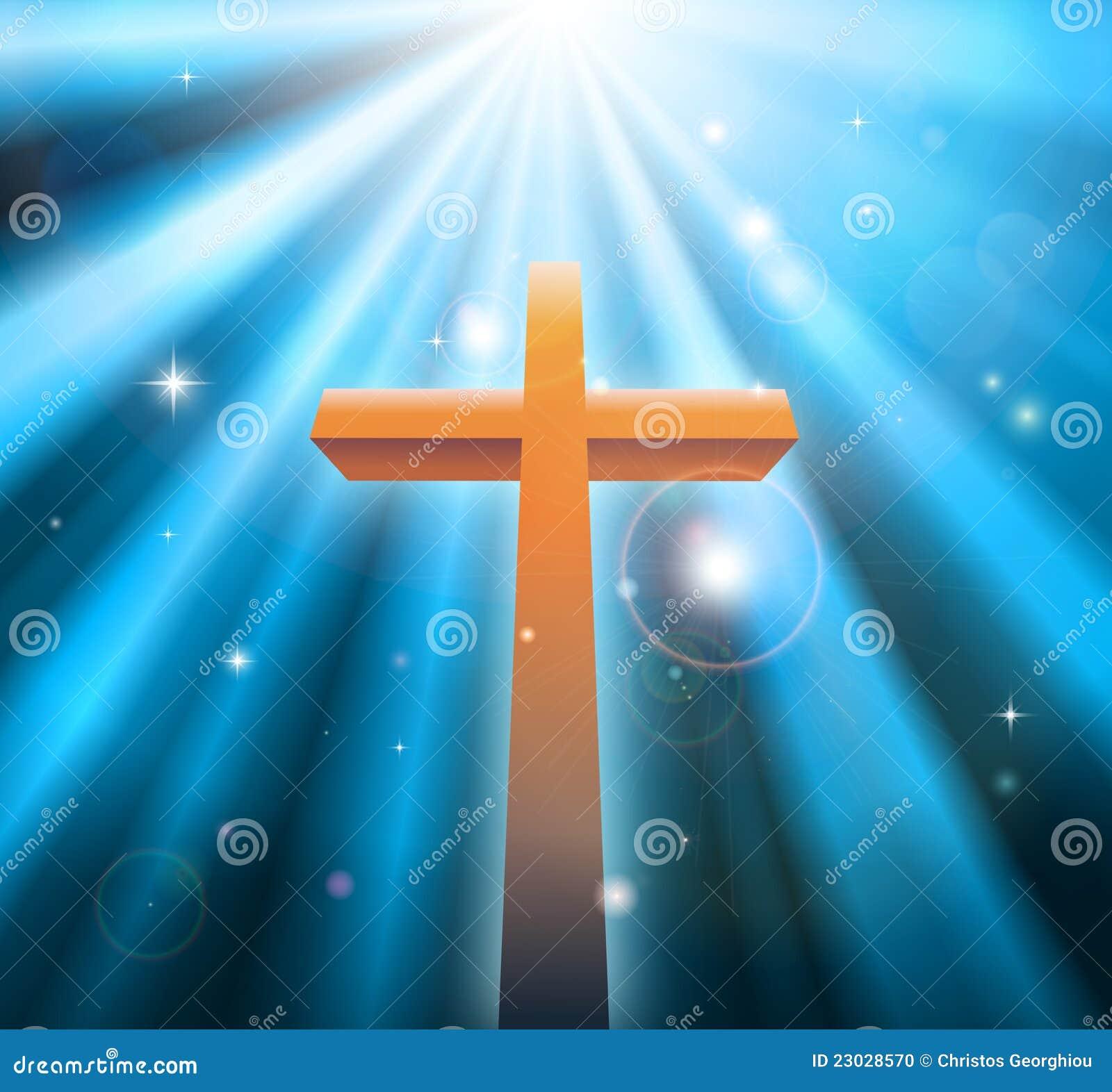 Cruz cristiana de la religión