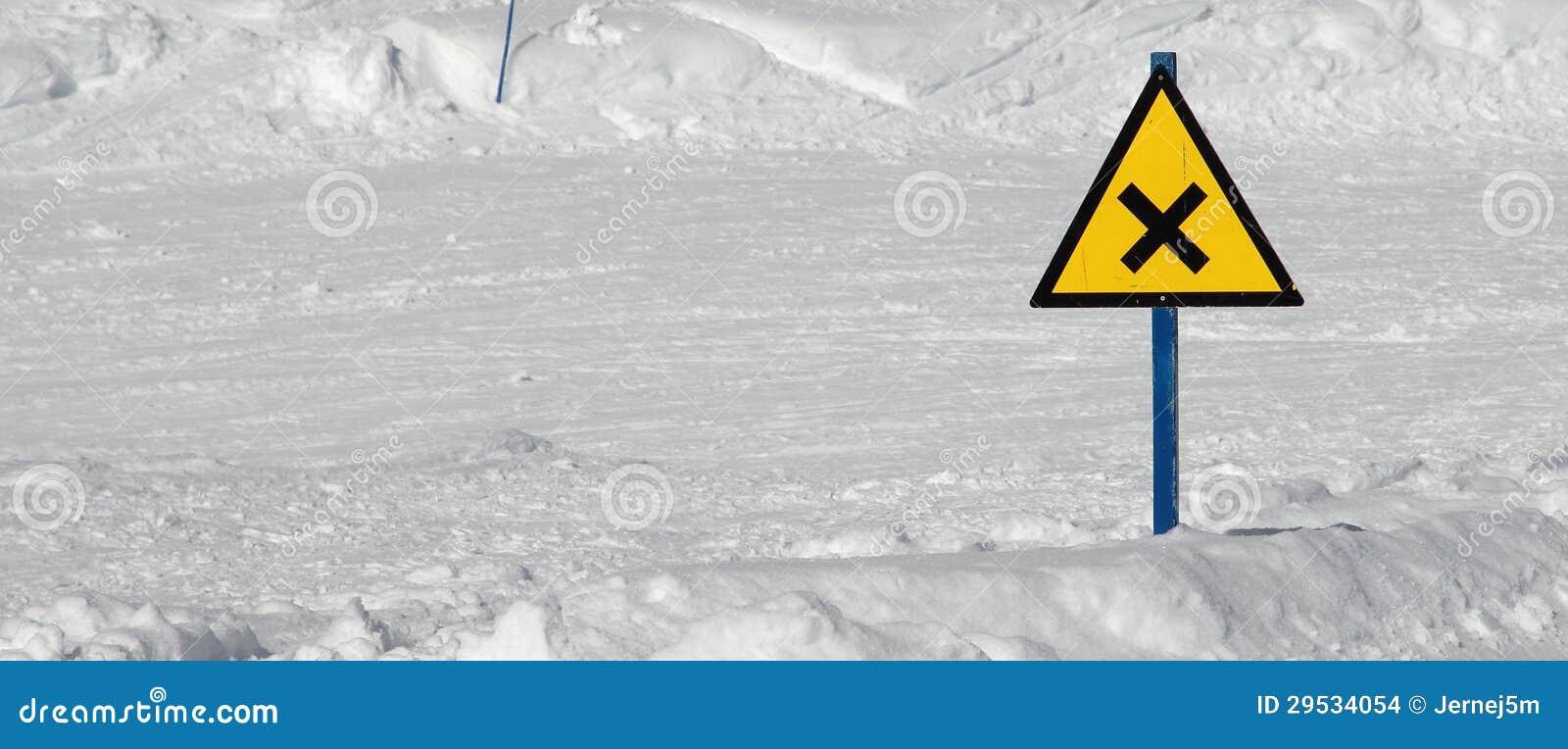 Cruz do esqui