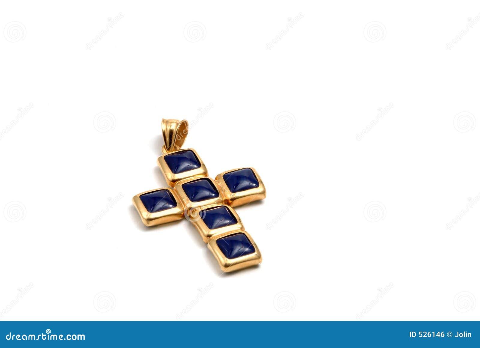 Cruz no ouro