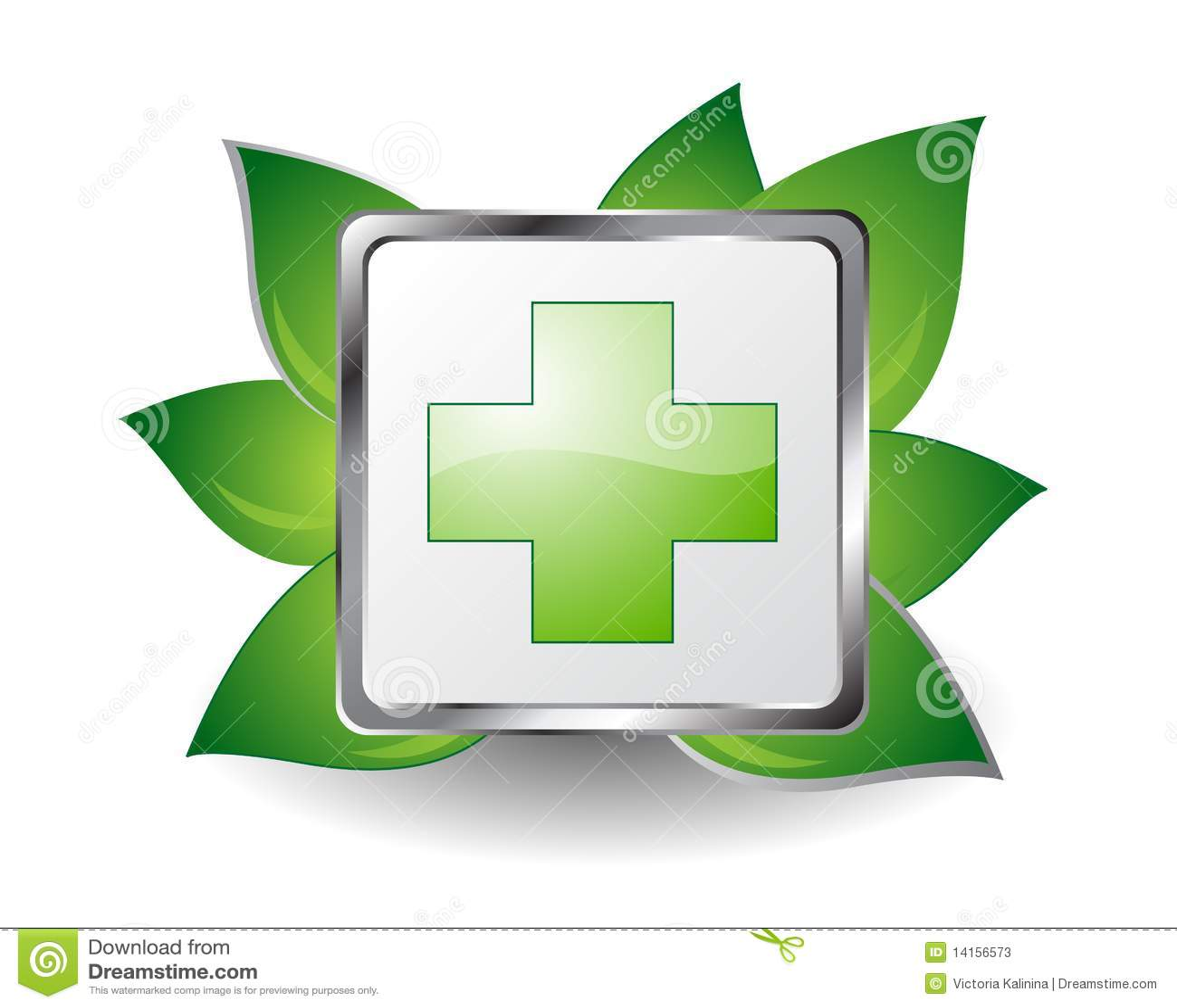 Cruz verde ilustración del vector. Imagen de verde, cruz