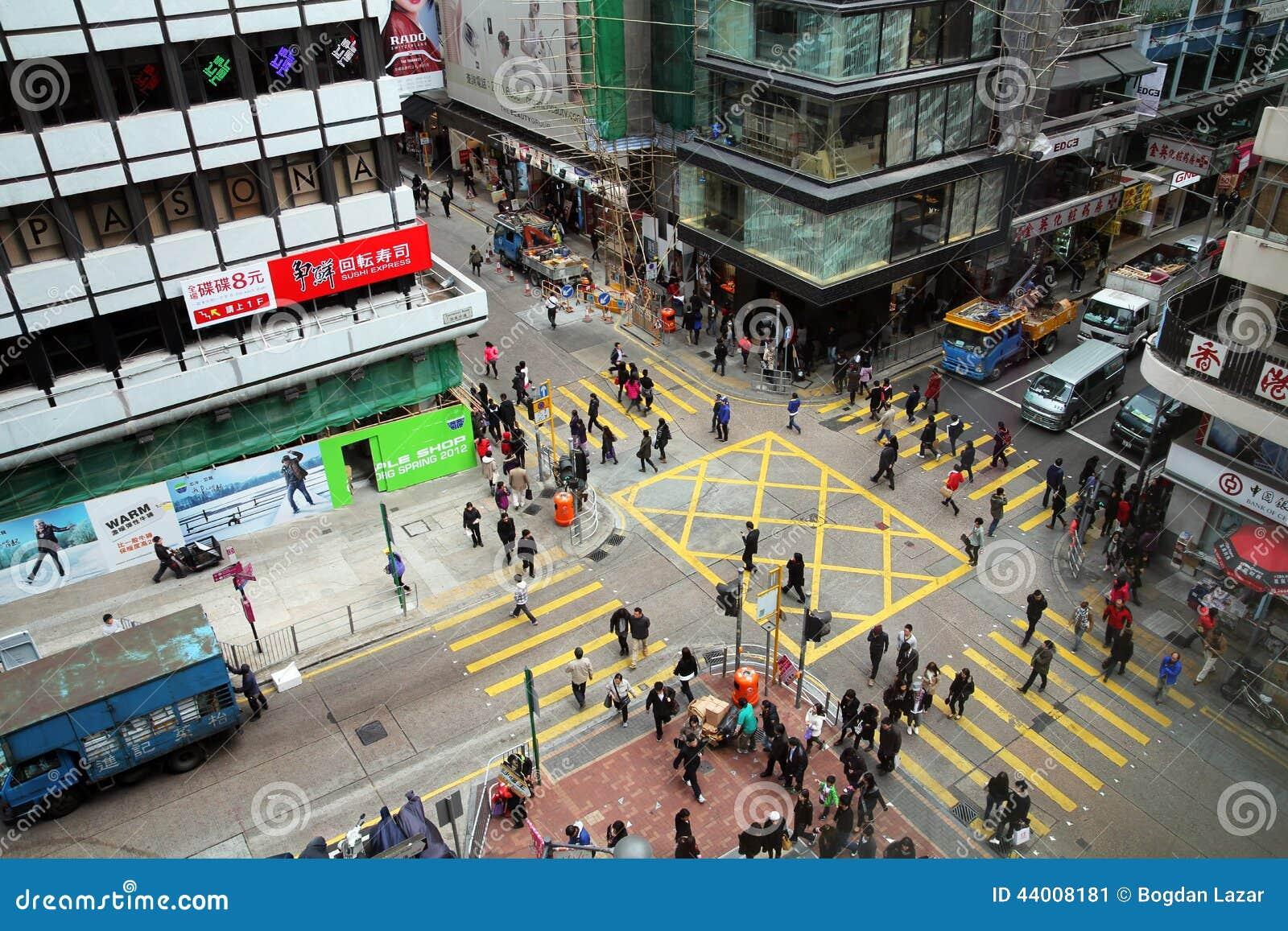 Cruzamento de Hong Kong