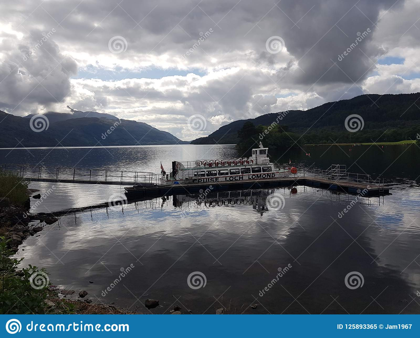 Cruzamento de Loch Lomond