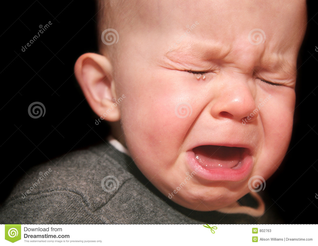 crying baby stock image. image of pouting, adorable, tear - 802763