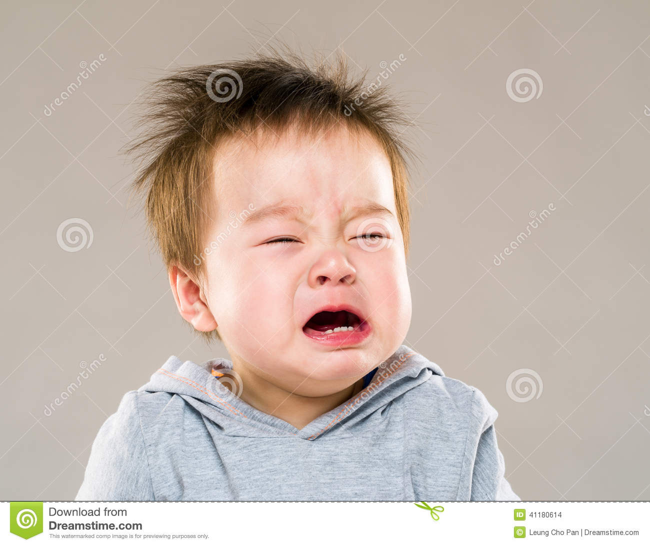 Background Of The Crying Asian Baby Stock Photos, Pictures