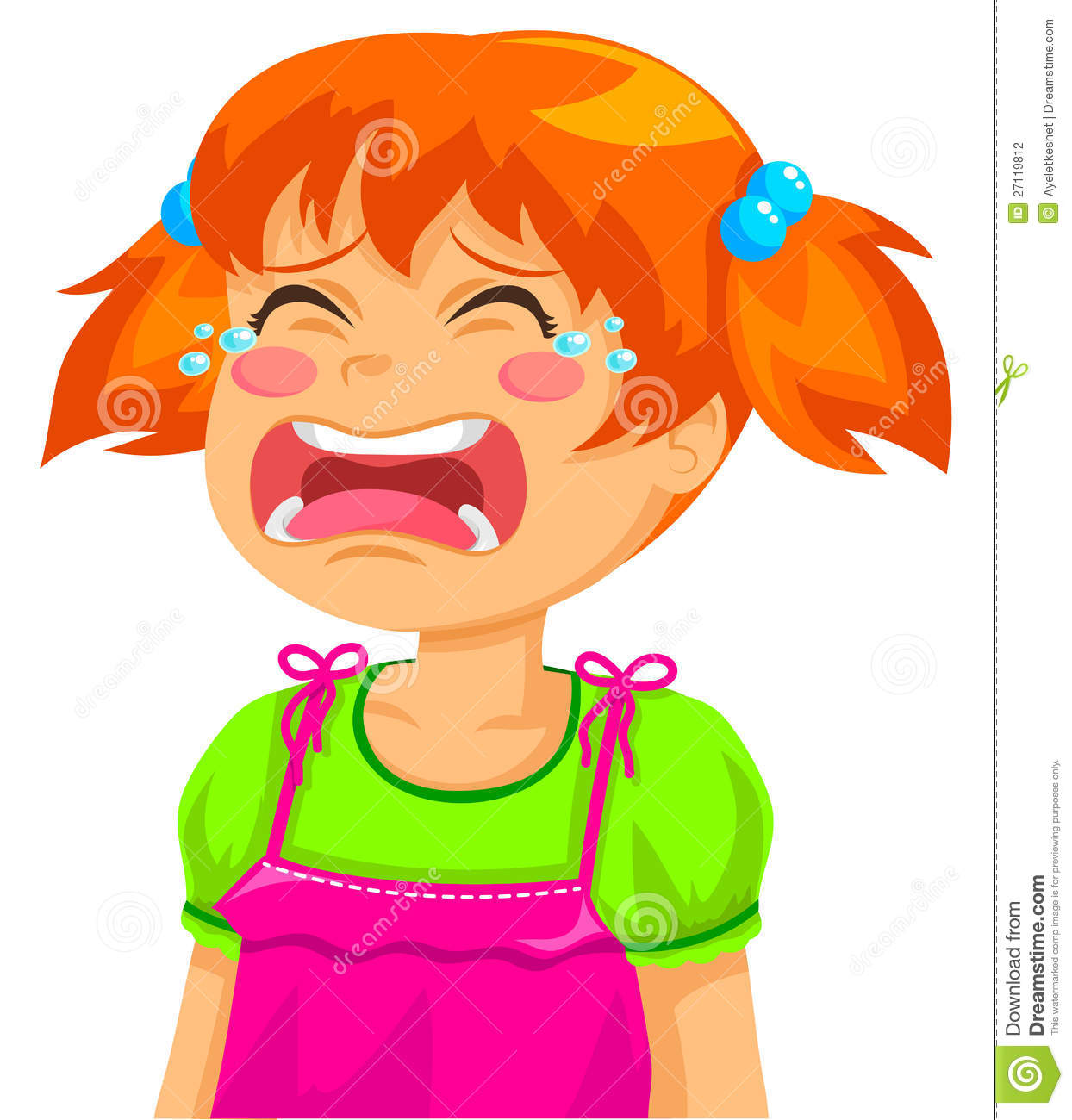 Crying Girl Stock Photography - Image: 27119812