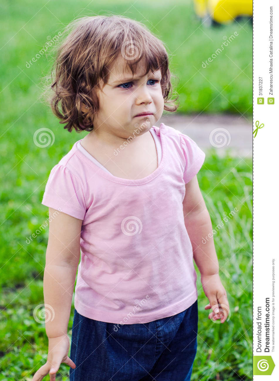 Crying little girl royalty free stock photography image 31837227 - Pics of small little girls ...