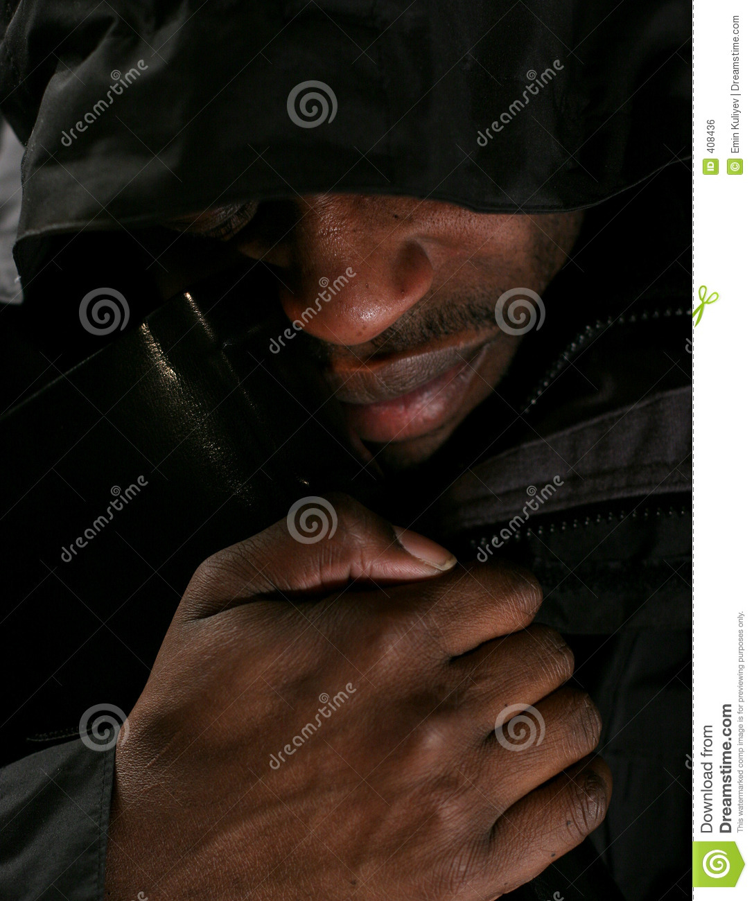 Man crying for love