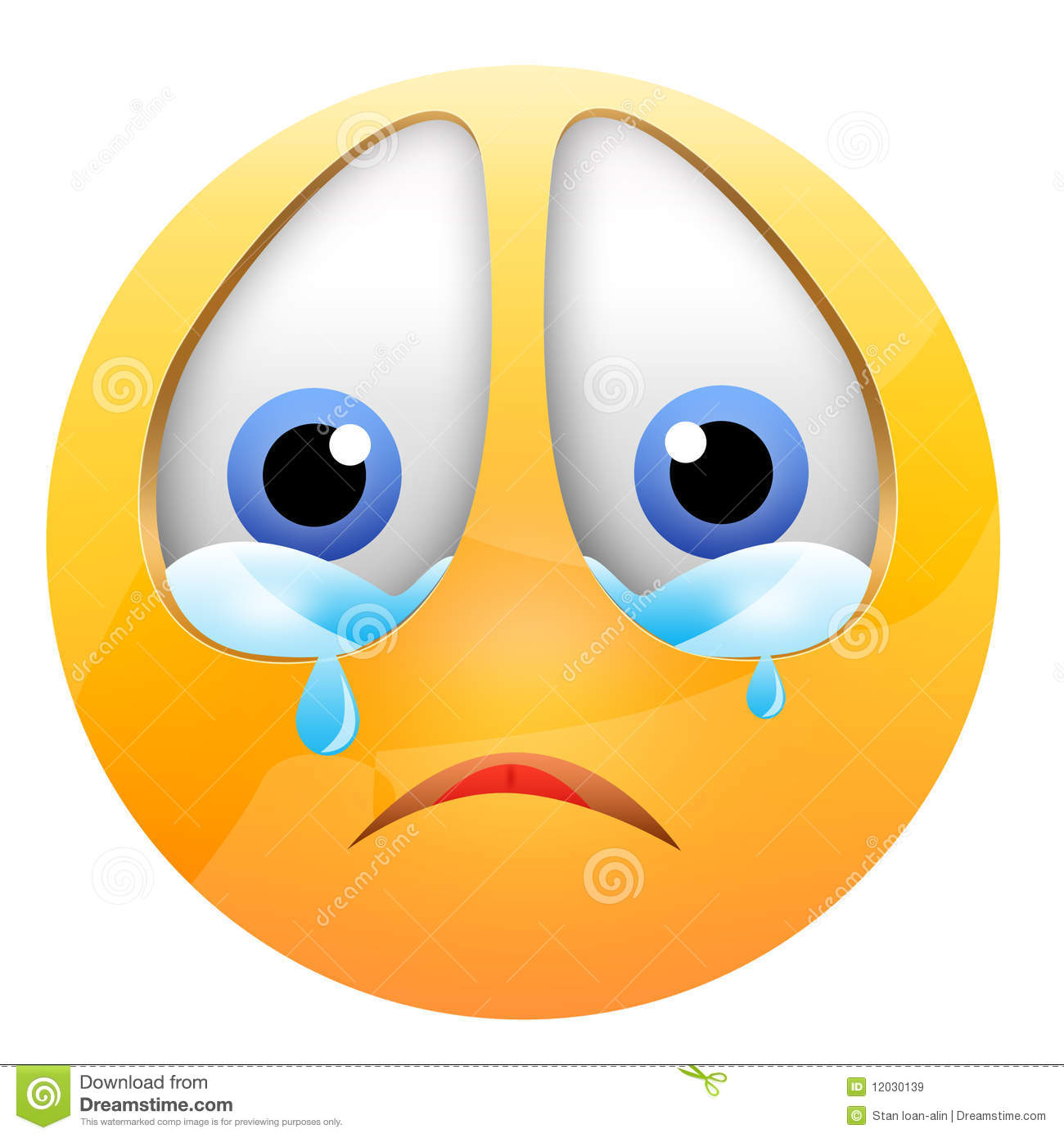 Crying Smiley Royalty Free Stock Images - Image: 12030139: www.dreamstime.com/royalty-free-stock-images-crying-smiley...