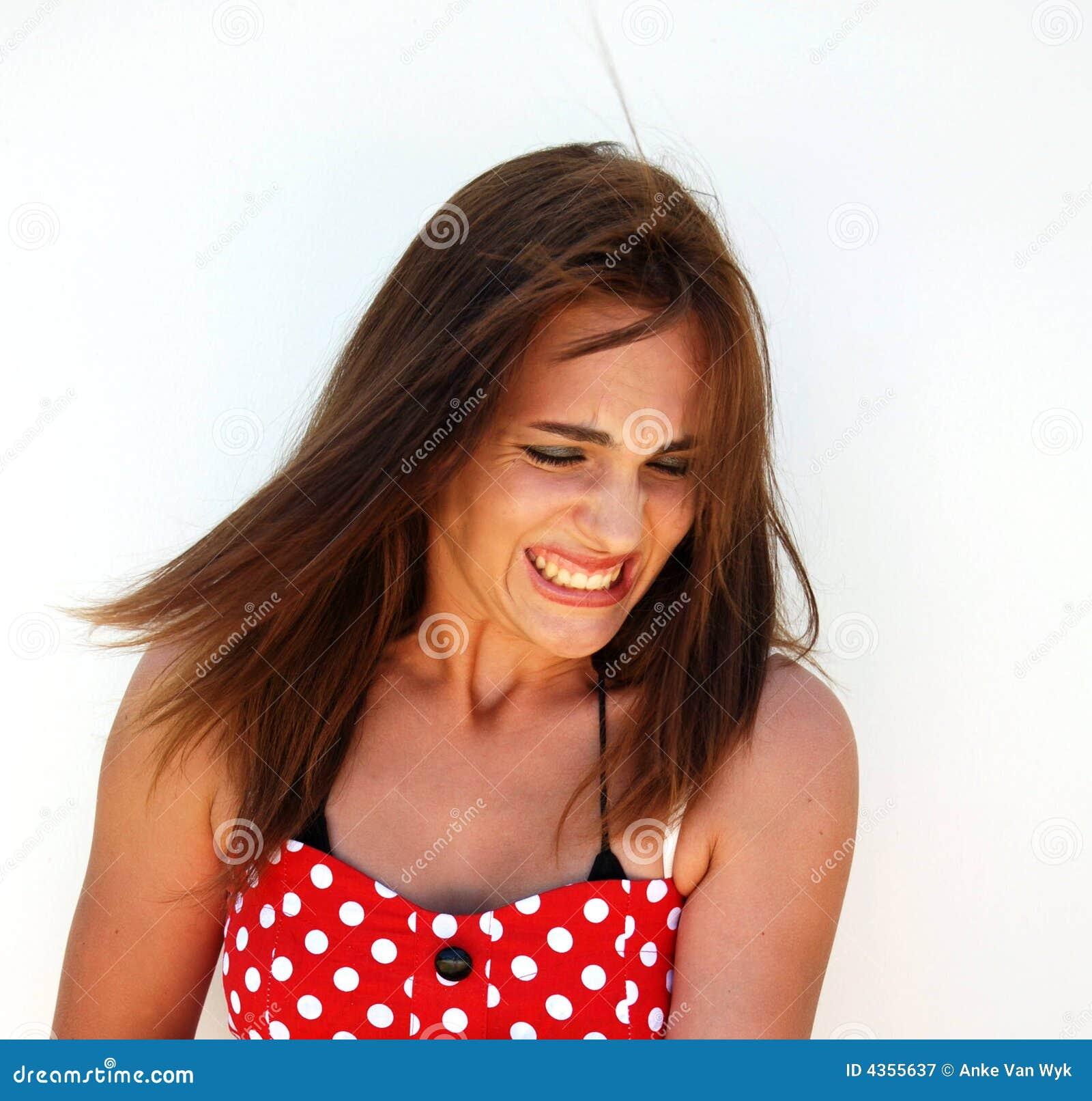 facial girl Crying teen