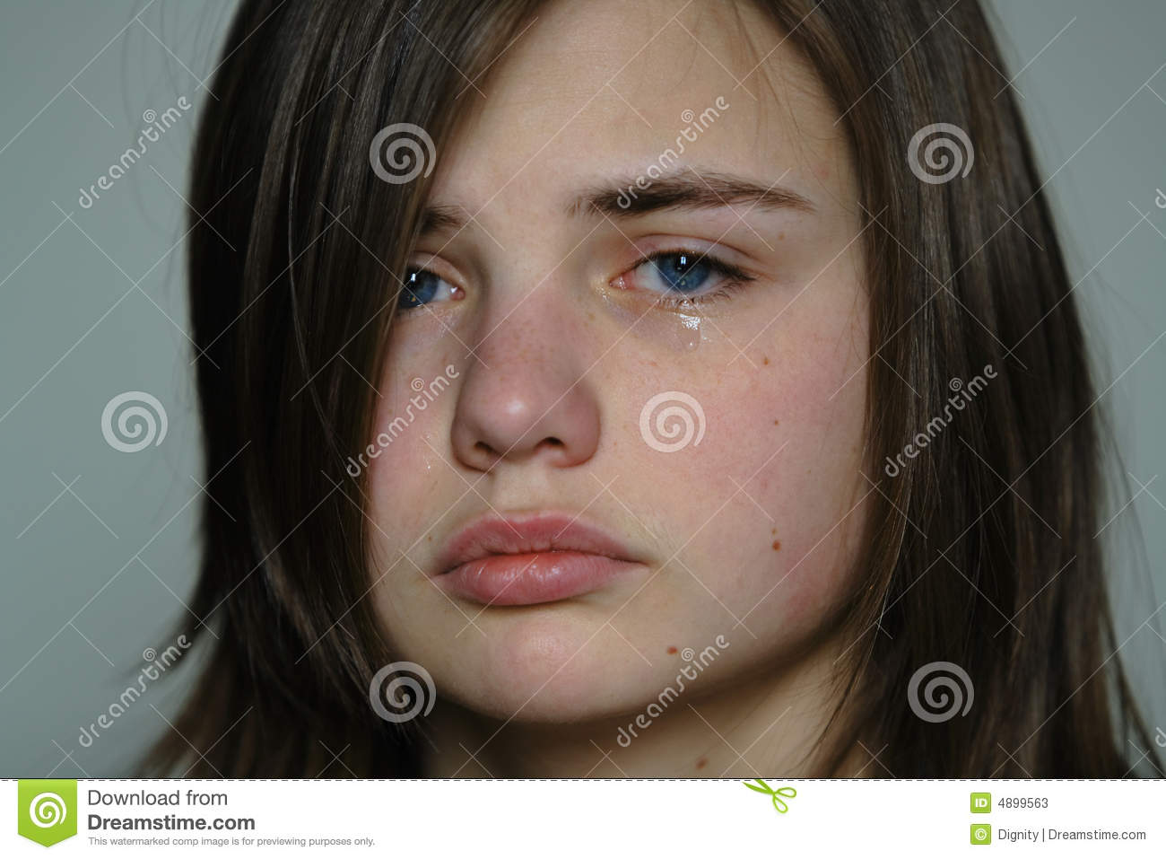 Crying woman young