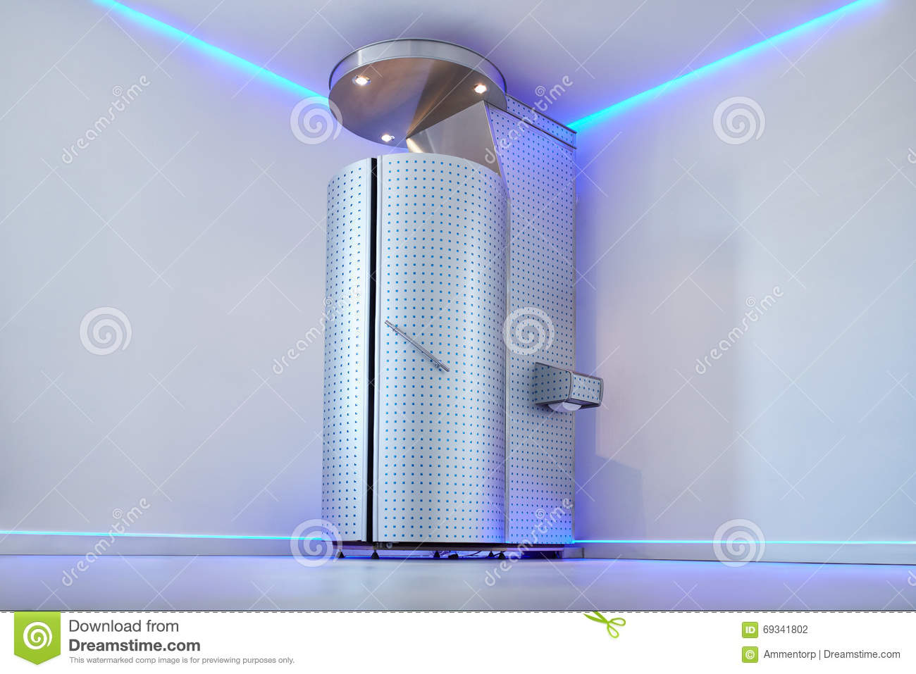 Cryo Sauna For Whole Body Cryotherapy Stock Photo - Image of