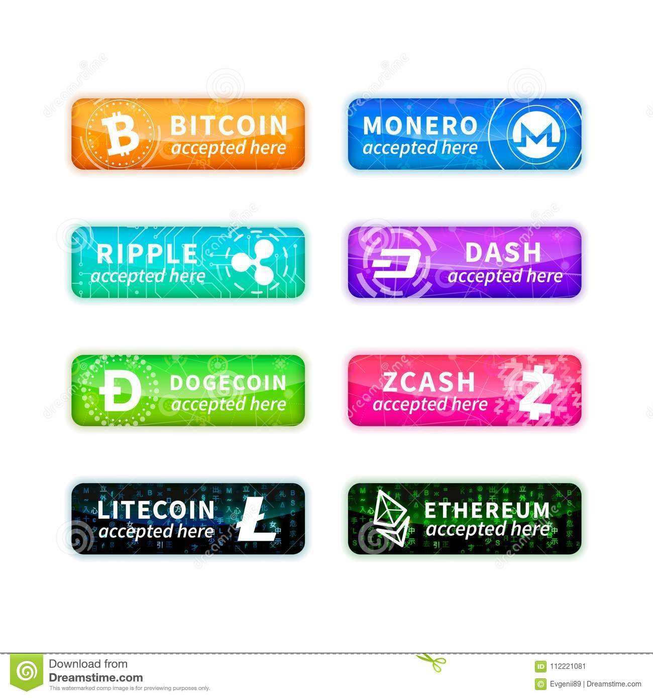 most accepted cryptocurrency