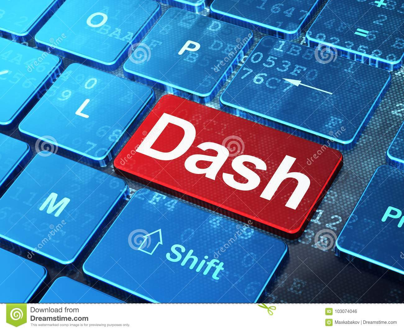 how to make a dash on keyboard